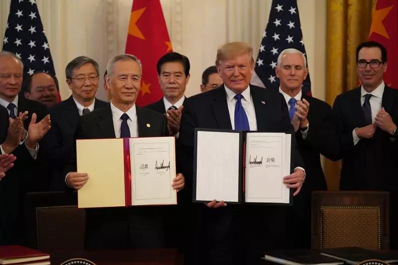 中(zhong)美簽署經貿協議!美國留(liu)學將徹底回(hui)暖!